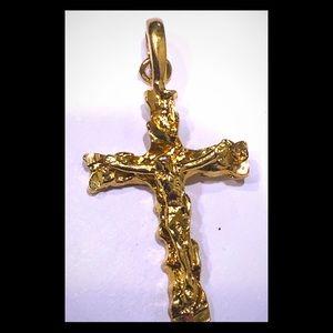 Jewelry - Gold cross pendant